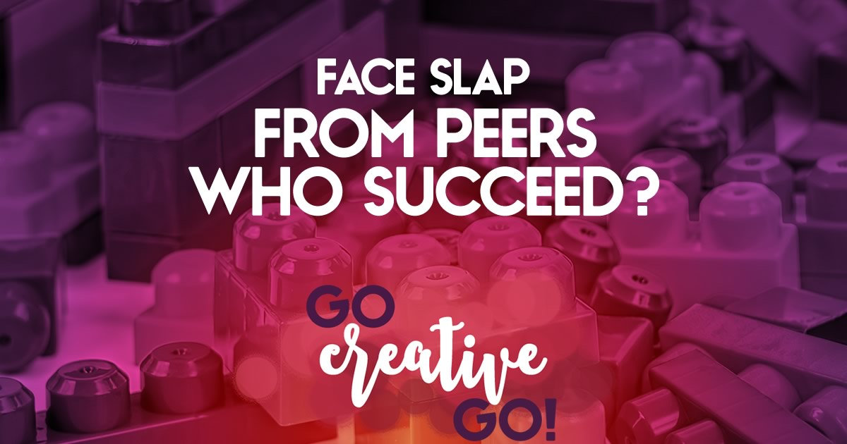 The Truly Successful Don't Slap You Across The Face With It!