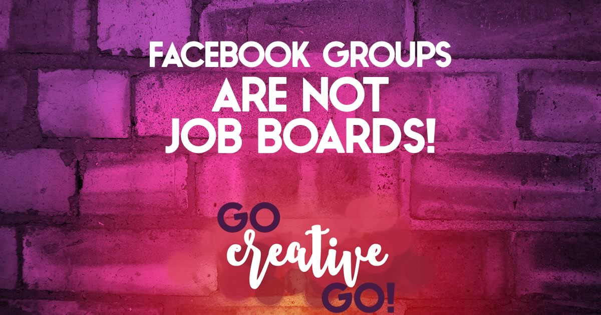 When Facebook Groups Become Job Boards