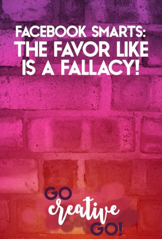 Facebook Smarts: The Favor Like Is A Fallacy!