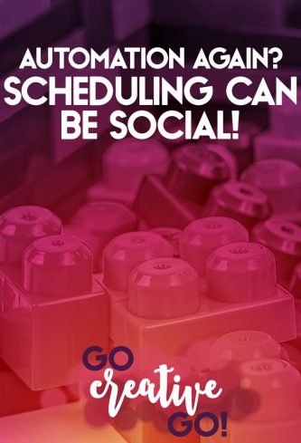 Automation Again? Scheduling Can Be Social!