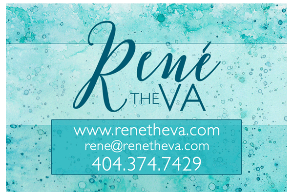 Rene the VA: Business Card Design