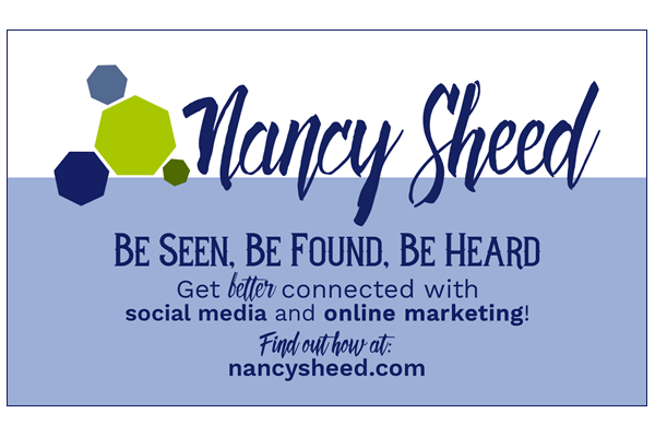 Nancy Sheed Communications - Business Card