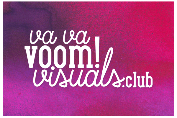 Va Va Voom! Visuals: Business Card Design