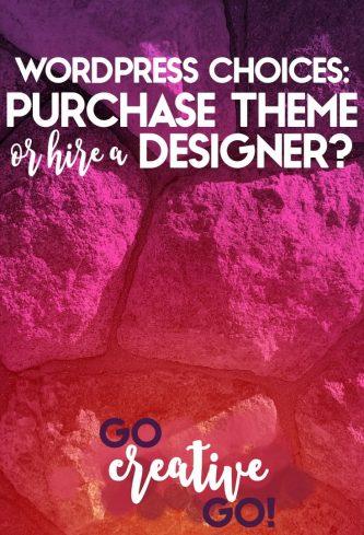 Decision: Purchase A WordPress Theme Or Hire A Developer?