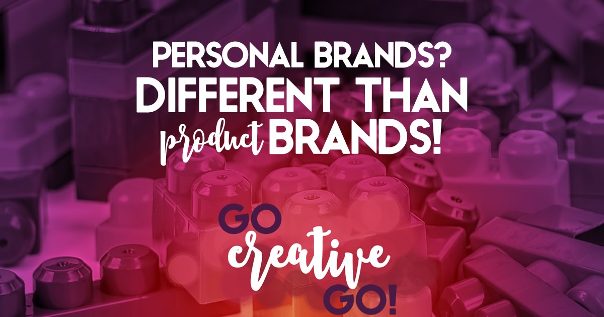 Personal Brands Are Different Than Product Brands