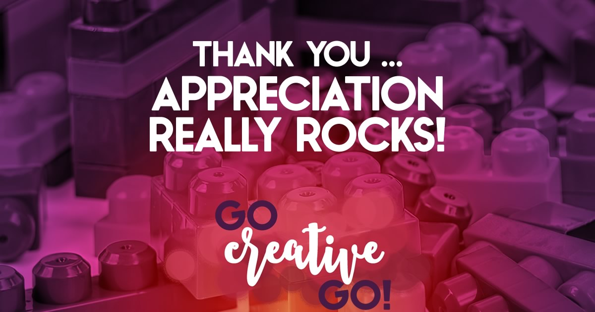 Thank You: Appreciation And Acknowledgment Rock!