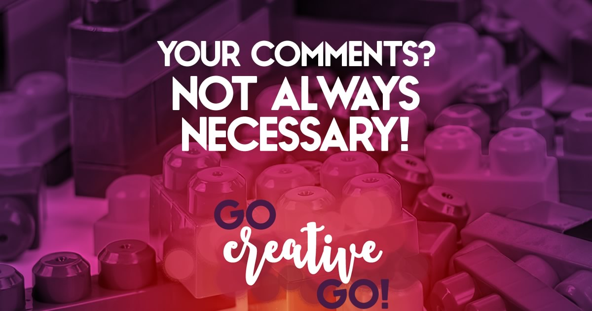 #SMMsmarts: You Don't Have To Comment On Everything!