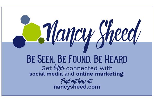 Nancy Sheed Communications - Business Card